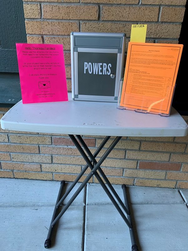 Powers Drop Box